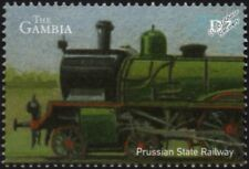 Prussian State Railway (Germany) Class S3 Steam Train Locomotive Stamp