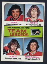 1975-76 Topps Hockey #325 Philadelphia Flyers TL