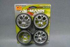 1:10 ANSMANN PNEUMATICI 211000075-CERCHI-Set dubstar Chrome-Wheel & Tyre Set
