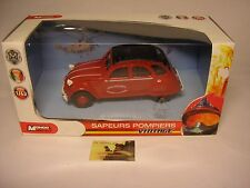 Macchinina Die-cast Mondo Motors Citroen 2CV Pompieri serie Vintage scala 1:43