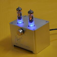 1pc 6F3 (ECL85 6BM8) MINI Small Tube Integrated Amplifier Audio Amp Silver