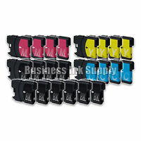 22 PK New LC61 Ink Cartridge for Brother Printer DCP-585CW MFC-J630W LC61 LC-61