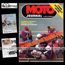 MOTO JOURNAL N°276-b YAMAHA IT 400 C PMS GIANFRANCO BONERA '76 ★ POSTER MJ 200 ★