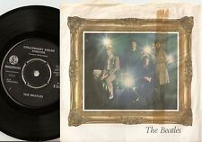 THE BEATLES PENNY LANE & STRAWBERRY FIELDS DANISH 45+PS 1967 LENNON McCARTNEY