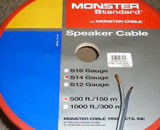 Monster Cable S14 Raw speaker sold cable by the meter