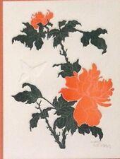 Orange Peonies By Unknown Artist