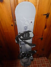 Lamar Blazer 144 Full Wood Core Snowboard With Bindings Classic