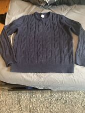 Gap 100% Wool Cable Knit Pullover Sweater Medium