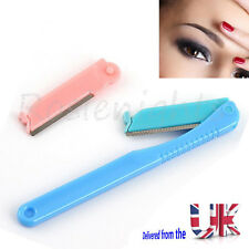 Eyebrow Razor Trimming Blade Trimmer Facial Hair Remover Shaper Knife Tool Uk