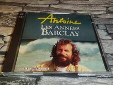 ANTOINE  LES ANNEES BARCLAY   / 2 CD 21 TITRES  TRES RARE