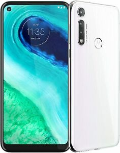 "Motorola Moto G Fast XT2045-3 32GB AT&T OR GSM Unlocked 6.4"" Smartphone - White"