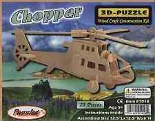 3D Natural Wood Chopper Puzzle (3D Wood Puzzle 23 pieces)