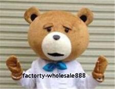 Costume Mascot Cartoon for Lover Halloween Teddy Bear of TED Teddy Bear Heads