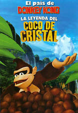 Donkey Kong Country-The Legend Of The Crystal Coco (2014, DVD New)