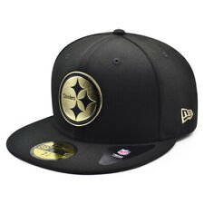 Pittsburgh Steelers NFL The Metal Touch 59FIFTY Fitted Hat - Black/Gold