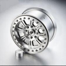 2PCS CNC Alloy 3.8 Inch Beadlock Wheels 8-Spoked W/O Tire for RC Crawler #1493