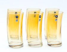 Leonardo 018021 - Swing 1 Glas Longdrinkglas / Cocktailglas Farbe: Ambra