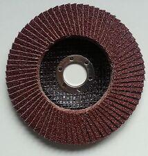 Fächerscheibe Ø115 mm Korn 40 Schleifscheiben Stahl Holz Metall Fächerscheiben