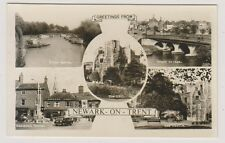 Nottinghamshire postcard - Greetings from Newark on Trent (Multiview) - (A8)