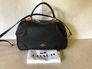 NWT COACH 69621 Polished Pebble Leather Lane Satchel Purse Bag