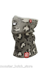 NEW WITH TAGS Airhole Unisex AT2 AIRTUBE ERGO AIRWOOL FACEMASK LEO CAMO HUNTING