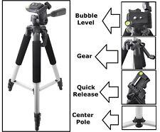 "57"" Pro Series Tripod With Case For Nikon Coolpix L120 S1200pj AW100 L25 S800c"