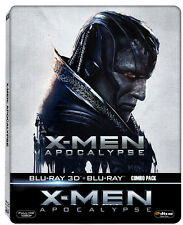 X-men: Apocalypse (STEELBOOK) (Blu-ray 3D + Blu-ray) (All Region)(AVAILABLE NOW)