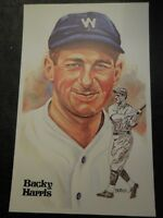 1980 Perez Steele Set Postcard Bucky Harris 5th Series #148 9968/10000