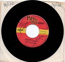 PATTY PRAVO disco 45 giri SENTIMENTO + GLI OCCHI DELL'AMORE made in ITALY 1968