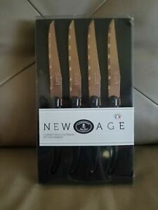 LaGUIOLE New Age Steak Knives Set of 4 Made in France Not China