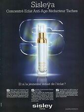 Publicité Advertising 2008 sisleya concentré eclat anti-age sisley