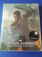 Captain America The Winter Soldier LENTICULAR NOVAMEDIA. NC-001. N°0263, NEUF