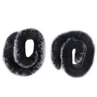 TOPARCHERY Rex Rabbit Fur Balls Bow String Silencers for Longbow Stabilizer Set