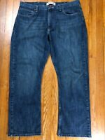 Wrangler Jeans Company Mens Relaxed Boot Blue Jeans Size 38 x 30