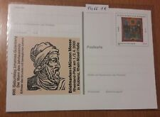 Bund Ganzsache PSo 66 postfrisch, Briefmarken + Münzen Messe Koblenz