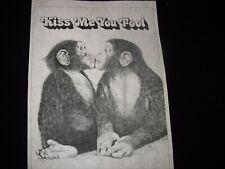 * Tri Chem 8183 Kiss Me You Fool Chimps Picture Trichem