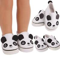 Puppe Segeltuch-Schuhe PU-Schuhe Einzelne Schuhe für 14,5 Zoll Cute Doll O3H2