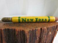 Vintage Advertising Bullet Pencil New Idea Farm Equipment Denison, Iowa KCA3