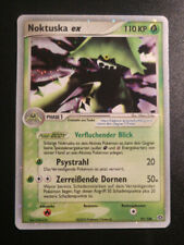 Noktuska Ex   Ex Smaragd   Near Mint-   deutsch   Pokemon Karte