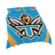 NRL Official Quilt Cover Set, Queen, GOLD COAST TITANS