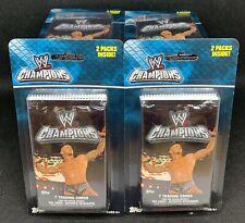 (57) 2011 Topps WWE Champions Sealed Blister Pack Lot - 114 Packs