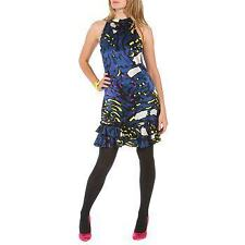 NWT BETSEY JOHNSON VINTAGE CHARMEUSE TRAPEZE DRESS~SIZE 8 **SALE**