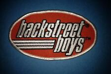 Back Street Boys Bsb Pop Top 40 Music Jacket Hoodie Vest Patch Crest Orange A