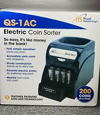 Royal Sovereign Quick Sort Coin Sorter Counter Machine Qs 1ac Tested Amp Working