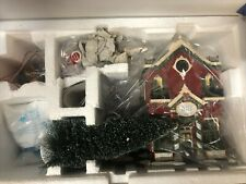 Dept 56 Silver Bells Christmas Shop #55040 -Orig Snow Village New/Other Tested
