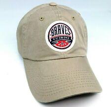 Richmond Braves Minor League Baseball Embroidered Beige Cap Hat