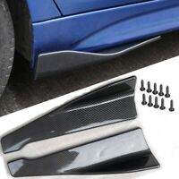 48cm Skirt Spoiler Rear Lip /Side Skirt Extension Rocker Splitters Winglet Wings