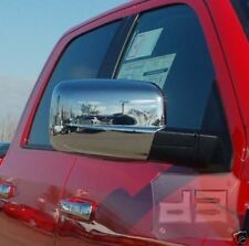 2009-2017 Dodge Ram FULL Chrome Mirror Covers