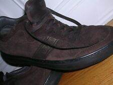 TOD'S Men Shoes sz 10 1/2 Europe 45 US 12 Brown Suede
