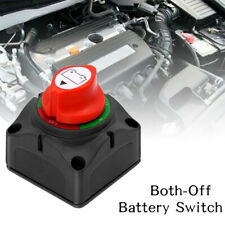 Dual ON-Off Battery Switch Selector Disconnect For Marine Boat Rv Vehicles